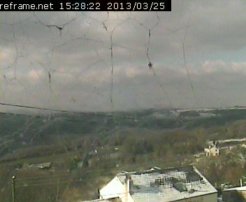 output of Wye Valley Webcam